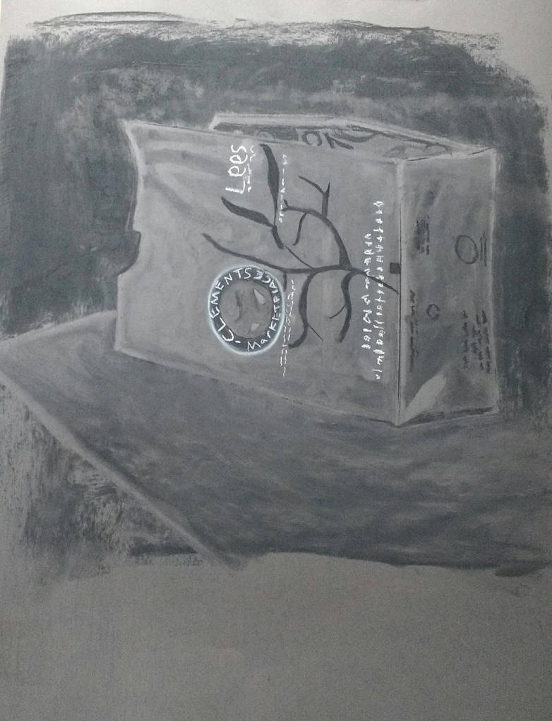 Charcoal Class Sketch 5 by LeoReeseo