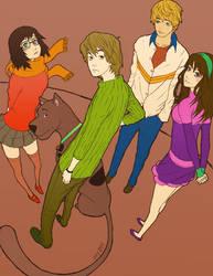 osy057's Scooby Doo colored by Izaru