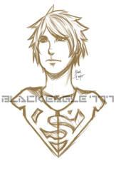 Superboy Sketch by BlackHolmesEagle777