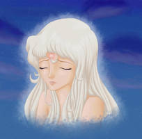 Lady Amalthea Potrait by ChildOfMoonlight