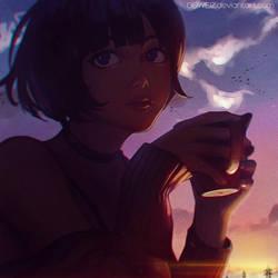 Coffee~ by GUWEIZ