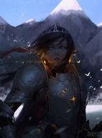 Knight by GUWEIZ