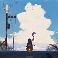 Commute by GUWEIZ