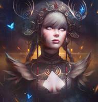 Priestess by GUWEIZ