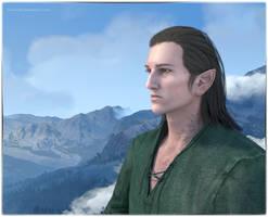 Iorveth the Aen Seidhe by FeainneW