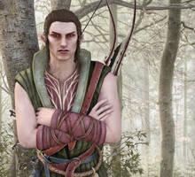 Elf Cedric by FeainneW