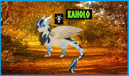 Kaholo my Draqoodle oc by Andermarek107