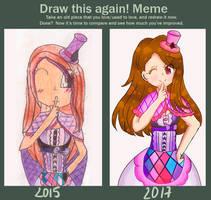 [Draw This Again Meme] Iori ~ by WakaFromStarAnis