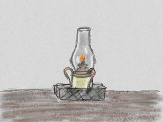 Oil Lamp by damekage