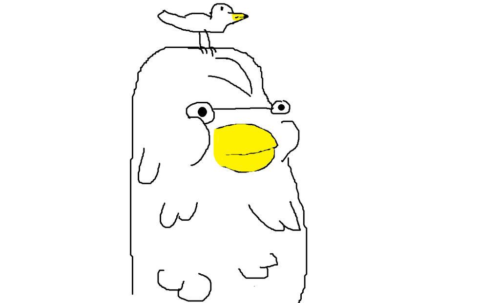 gud drawing - Heavy age 43 by Yetiisafag
