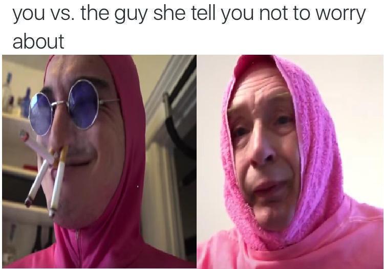 Pink Guy vs Pink Guy by Yetiisafag