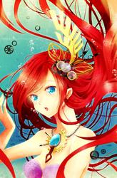 Steampunk Ariel by Rosuuri