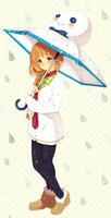 Rini and Umbrella by Rosuuri