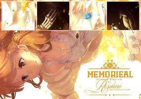 PREVIEW: Memorieal Artbook by Rosuuri