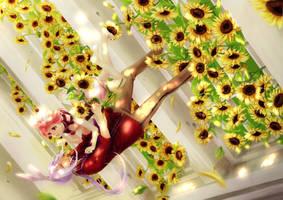 2013: My Sunflower by Rosuuri