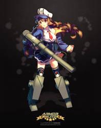 Armor Blitz - M12 by Rosuuri