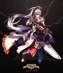 Armor Blitz - Karl-Gerat Odin by Rosuuri