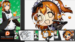 VIDEO REWARD - Honoka Chibi by Rosuuri