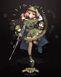 Armor Blitz - M3 Half Track by Rosuuri