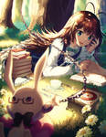 Alice Finds The Rabbit by Rosuuri