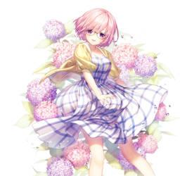Hydrangeas by Rosuuri