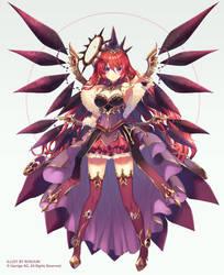 Red Goddess by Rosuuri