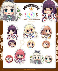Blend S Keychains by Rosuuri
