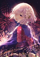 Happy New Year by Rosuuri