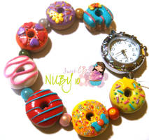 Colourful Donut Watch by colourful-blossom