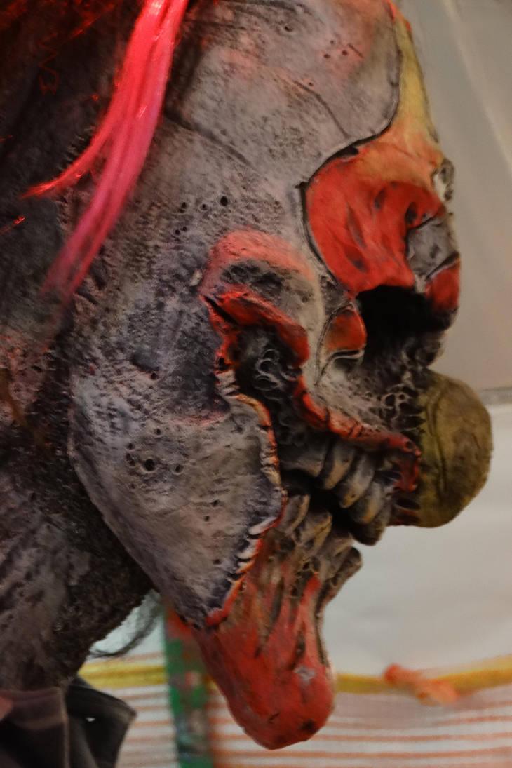 Clown Profile at Zombus, Little Suamico, WI 2018 by Crigger