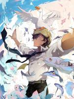 Please give me wings by AL-lamp