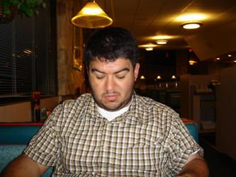 Joe at Breakfast by Mitzrealprime
