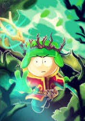 Kyle of the drows elves by Phinbella-Flynn