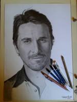 Wip - Christian Bale by FabianaAzevedo
