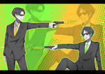 Special Agents Levi and Eren by Toxicmilkk