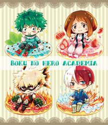 Boku no Hero Academia by Toxicmilkk