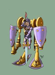 Gnibbert Cogglefizz, Thaumaturgic Knight by TomBerck