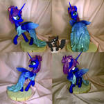 Luna in dress by HamPony