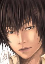 Hibari-realistic style by kuso-taisa
