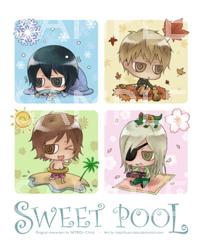 Sweet pool 2nd chibis sample by kuso-taisa