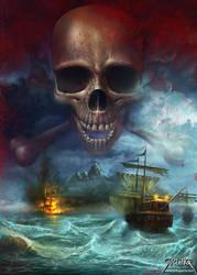 Death Island by jarling-art