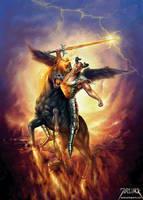 Devil Rider by jarling-art