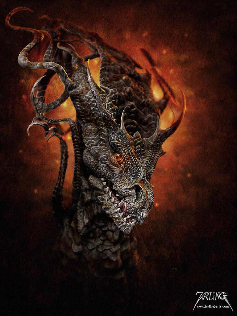 Big Dragon by jarling-art