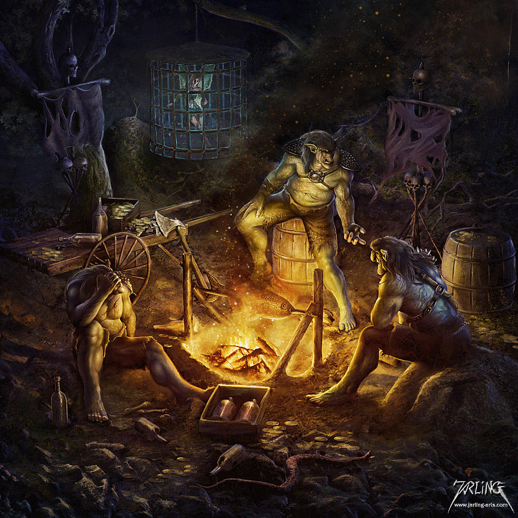 The Trolls by jarling-art