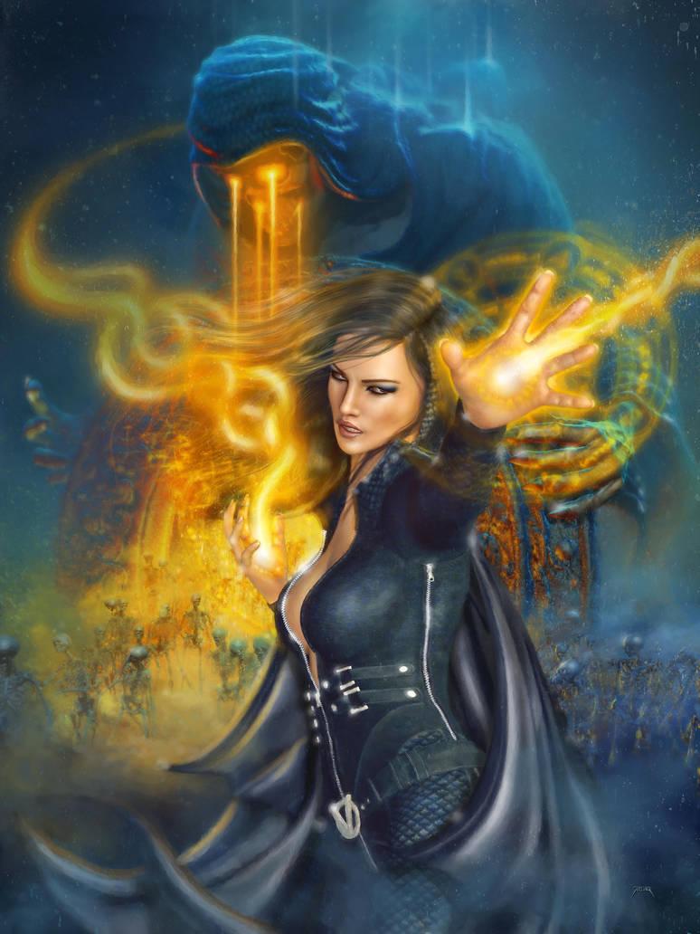 Portal Magician by jarling-art