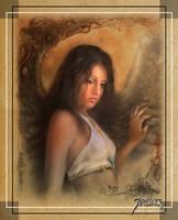 Sweet Angel by jarling-art
