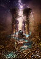 Demon Wizard by jarling-art