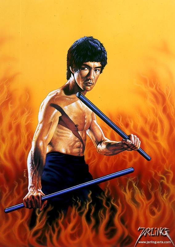 Bruce Lee 1 by jarling-art