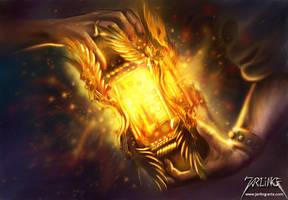 Lantern of Faith by jarling-art