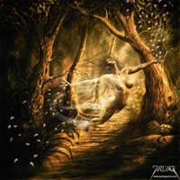 Forest Spirit by jarling-art